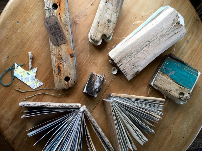 Iona Driftwood Binding Retreat