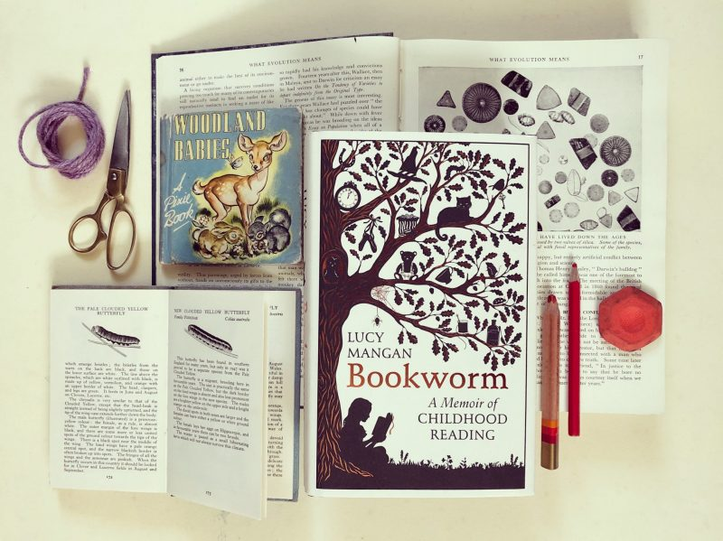 Bookworm: A memoir of childhood reading reviewed by Rachel Hazell of The Travelling Bookbinder