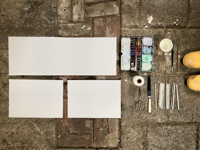 All the things you need to make a journal with Rachel Hazell