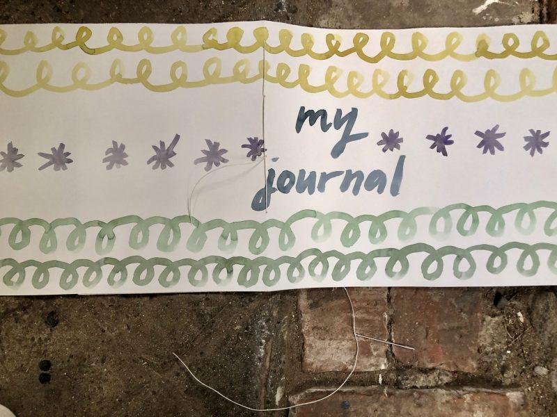 Make a journal - step nine
