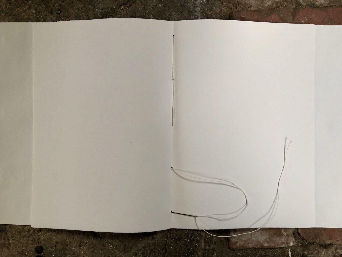 Make a journal - step ten