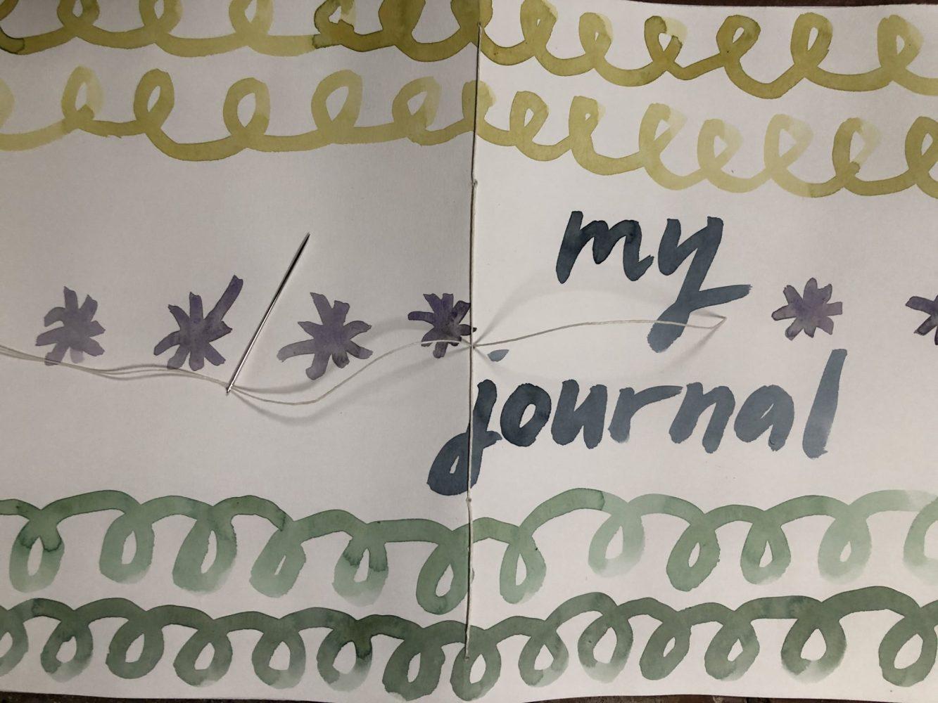 Make a journal - step thirteen