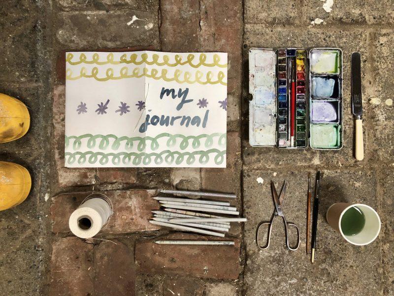My Journal bookbinding project by Rachel Hazell