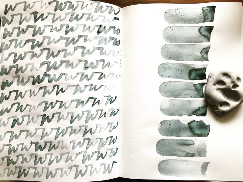 The Travelling Bookbinder Alphabet Sketchbook