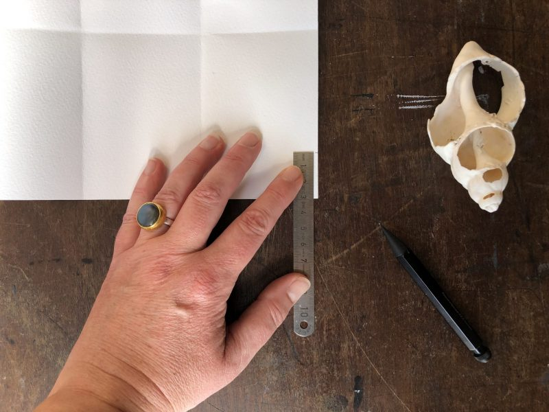 Fold Up Pocket Book by Rachel Hazell of The Travelling Bookbinder