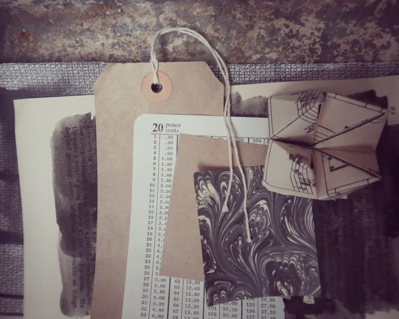 The Travelling Bookbinder: The PaperLove e-course: Ephemera for Collage week