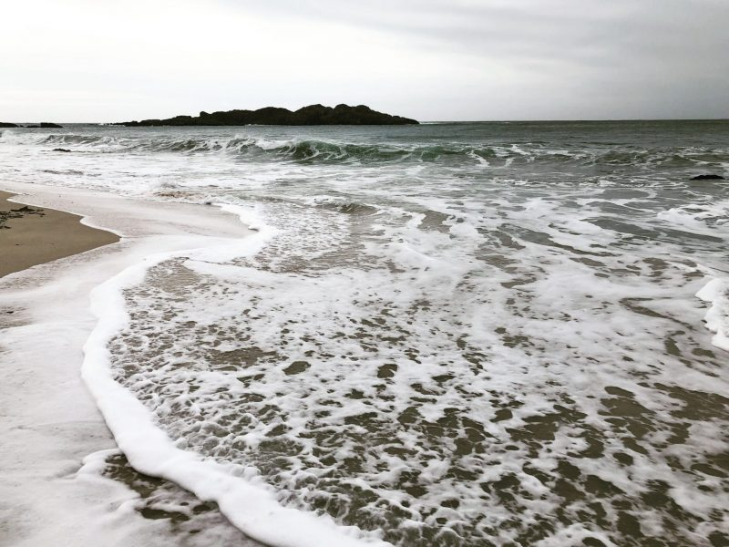 Vitamin sea. Isle of Iona. Rachel Hazell. Island isolation: Creative lockdown.