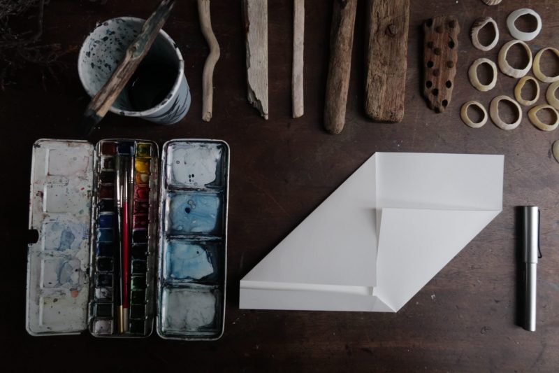 The Travelling Bookbinder: Mailart Origami Envelope. Side fold