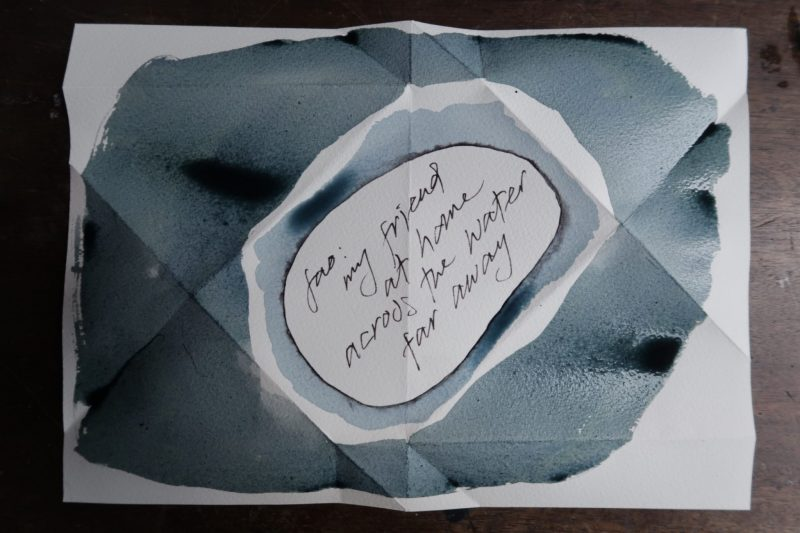 The Travelling Bookbinder: Mailart Origami Envelope. Decorate the outside
