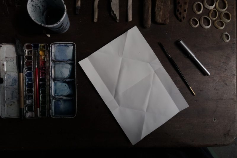 The Travelling Bookbinder: Mailart Origami Envelope. Ready to write