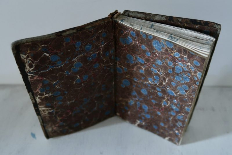 The Travelling Bookbinder, BookLove e-course: Marbled endpapers