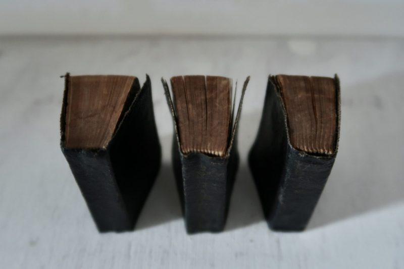 The Travelling Bookbinder, BookLove e-course: Three little books