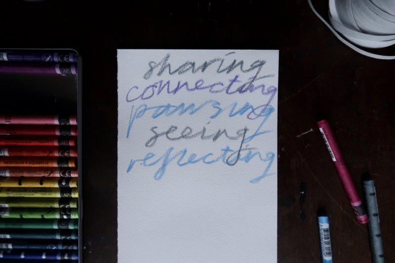 The Travelling Bookbinder: Thank You Scroll: Grateful words