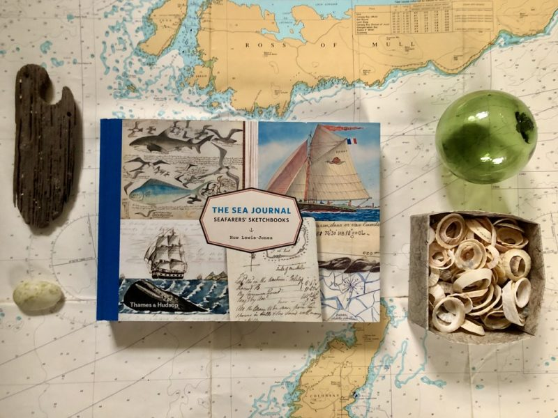 The Travelling Bookbinder: Good Reads 2020: The Sea Journal: Huw Lewis-Jones
