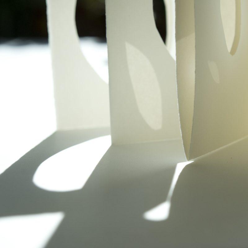 The Travelling Bookbinder: BookLove: A testimonial. Paper cut shadows. Annette Bergmann