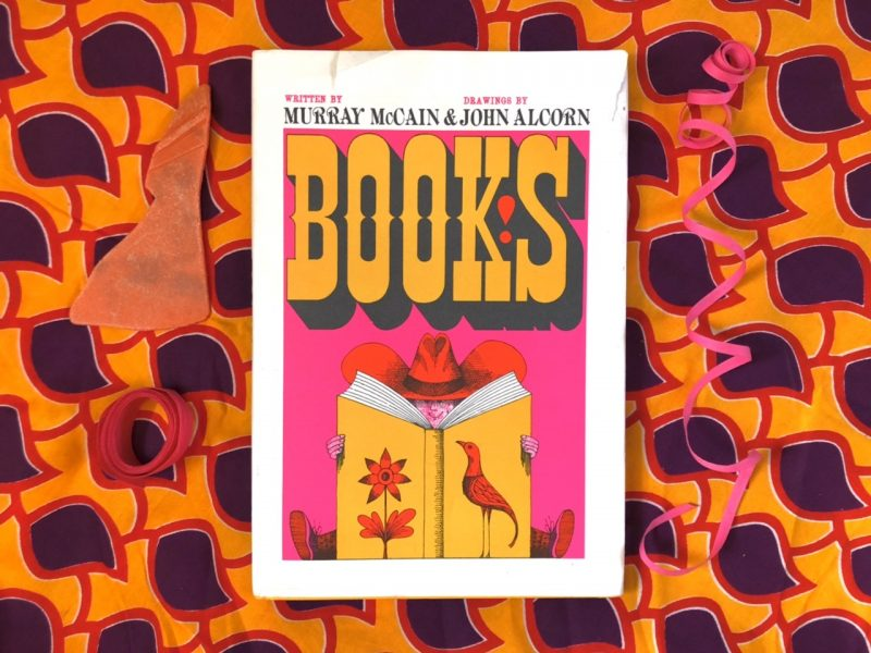 The Travelling Bookbinder: Book review: Books! by Murray McCain and John Alcorn. Published by AMMO.