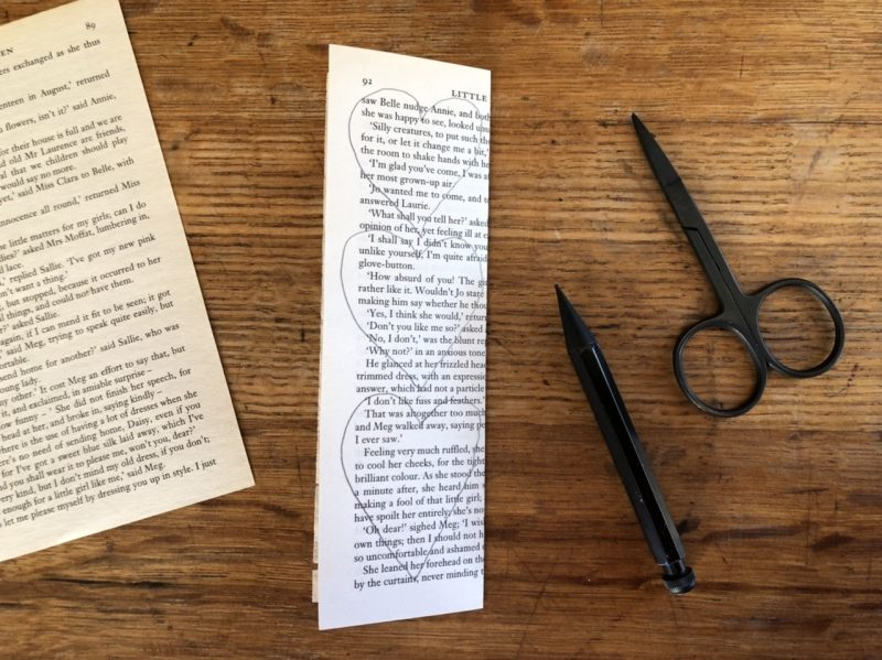 The Travelling Bookbinder: Heart Confetti: Draw hearts