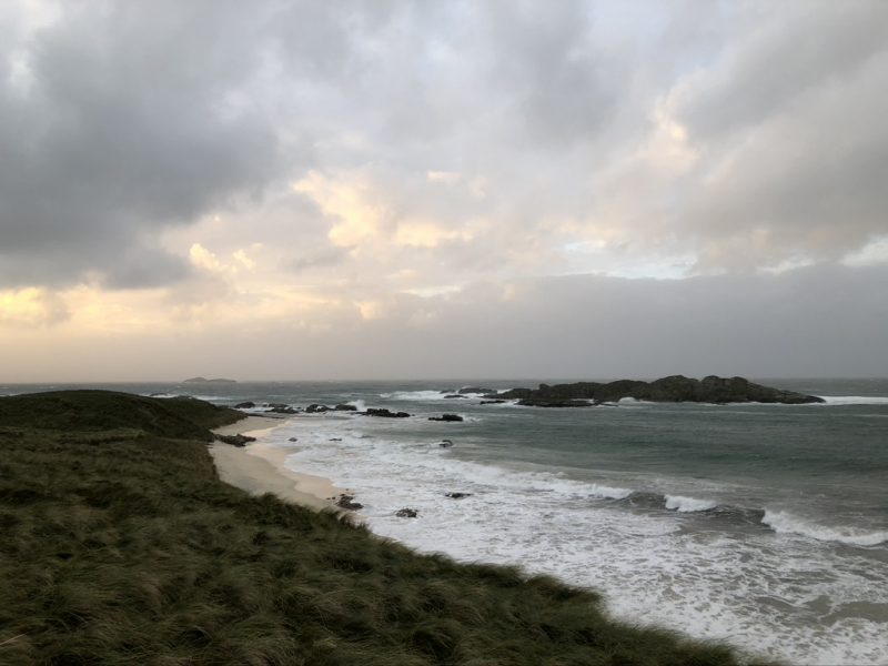 Isle of Iona: The Travelling Bookbinder: Book Review: Thin Places, Kerri ni Dochartaigh
