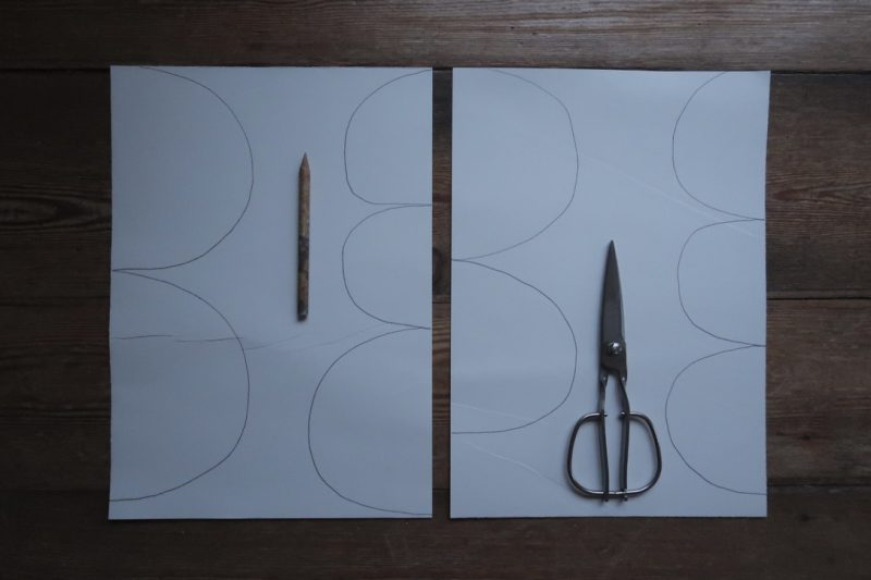 The Travelling Bookbinder: StAnza Bookart: Shades of Spring. Draw ten flags for your garland...any shape!