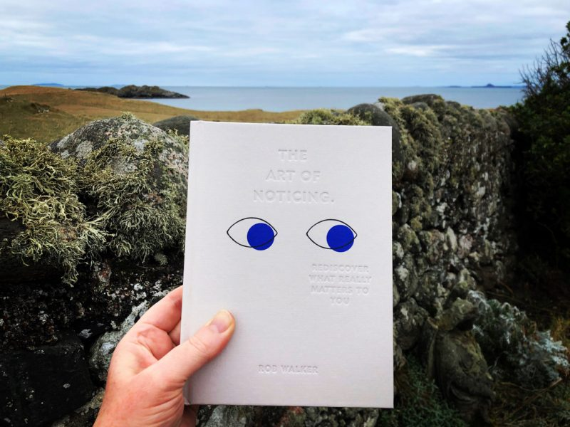 The Travelling Bookbinder: Book review: The Art of Noticing by Rob Walker