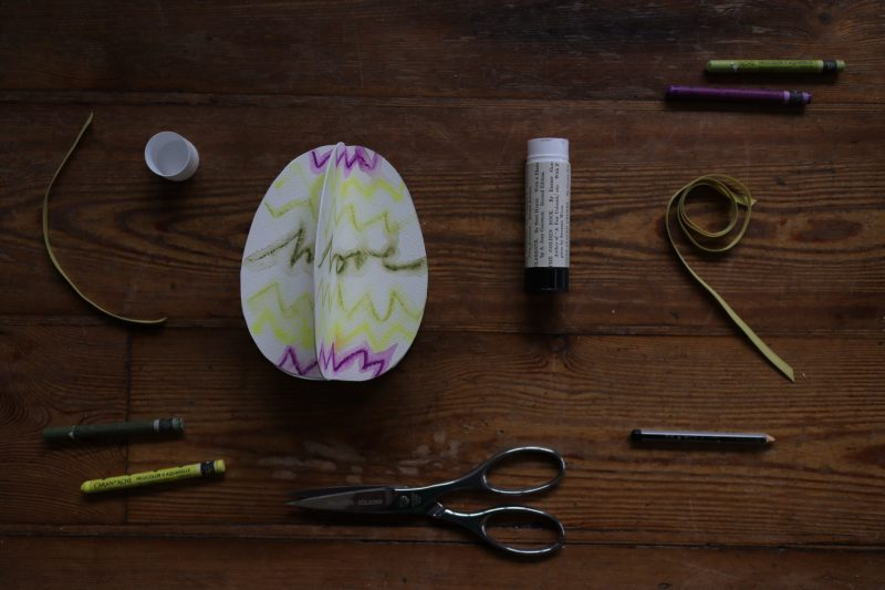 The Travelling Bookbinder: How to project: Egg book. Add a loop of ribbon