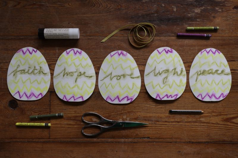 The Travelling Bookbinder: How to project: Egg book. Add colour