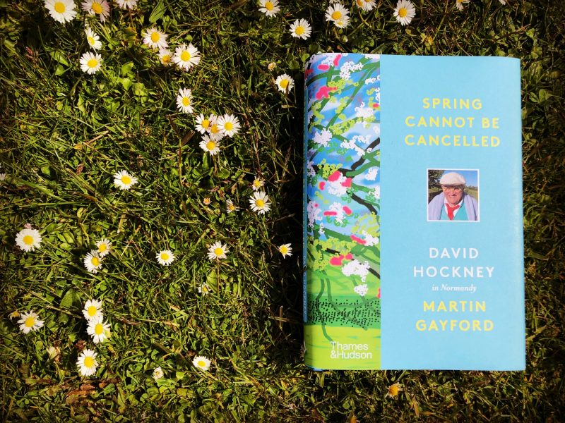 The Travelling Bookbinder: Book Review: David Hockney: Spring Cannot Be Cancelled