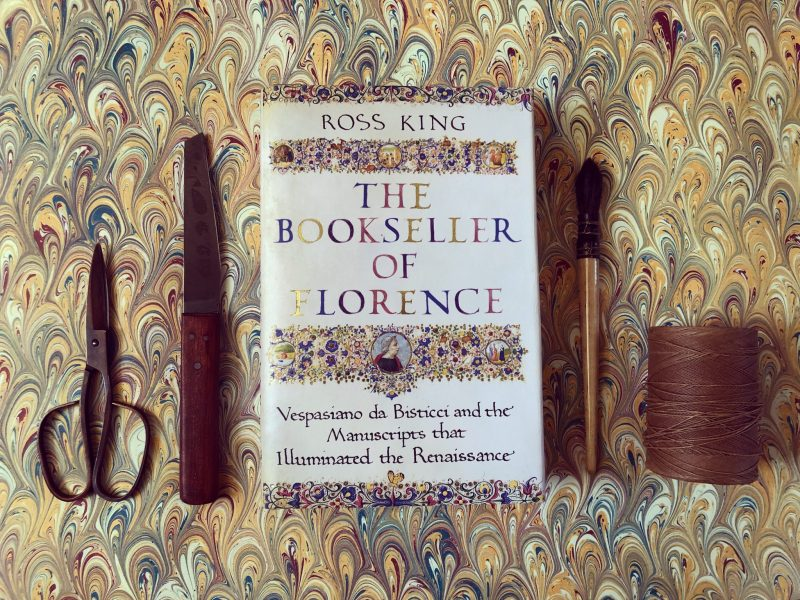 The Travelling Bookbinder: Book review: The Bookseller of Florence by Ross King
