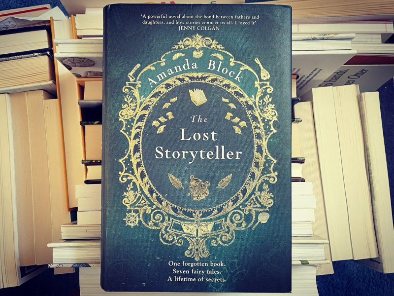 The Travelling Bookbinder Book review: The Lost Storyteller, by Amanda Block.