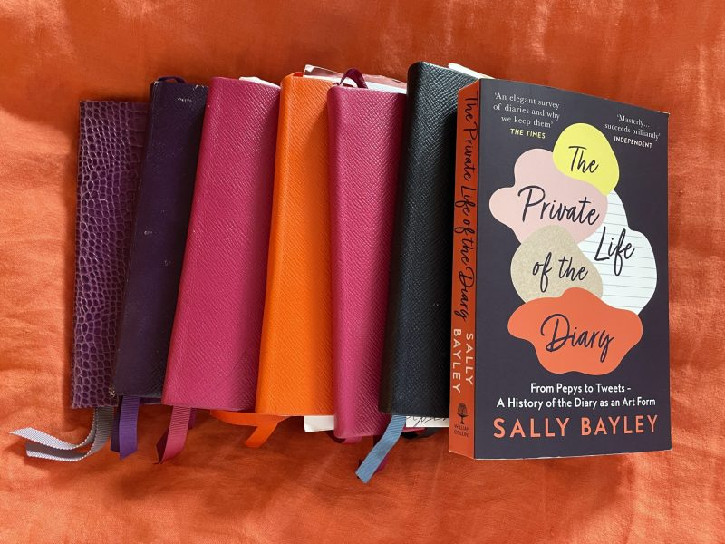 Book review of The Private Life of the Diary, by Sally Bayley. The Travelling Bookbinder